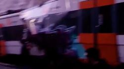 Al menos un muerto y 95 heridos en un choque de trenes en Castellgalí