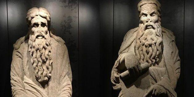 Estatuas de Isaac y Abraham, en disputa en los