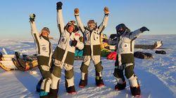 El Trineo de Viento en la Antártida: la emoción de hacer
