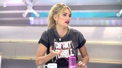 Alba Carrillo pide perdón tras irse llorando de 'Ya es