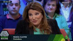 La respuesta de María Claver en 'LaSexta Noche' a quienes tildan de
