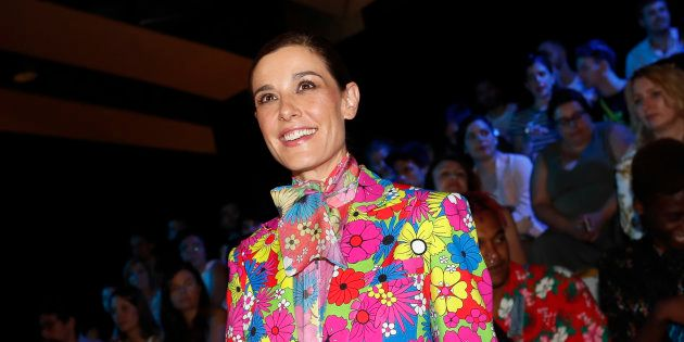 Raquel Sanchez Silva, en la Fashion Week Madrid 2018, en julio de