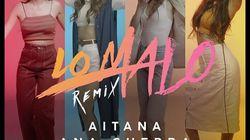 'Lo Malo' Remix: escucha la versión del éxito de Aitana War junto a Tini y