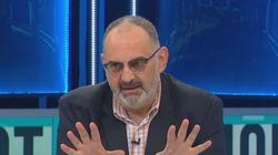 Antón Losada triunfa en Twitter con su balance de la manifestación en cuatro