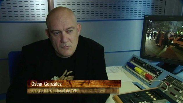 Óscar González en una foto de archivo de la web de