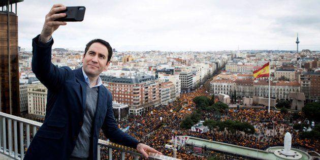 'Selfie' de García Egea en