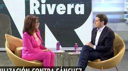 Rivera se viene arriba ante Ana Rosa tras la manifestación en Madrid contra la
