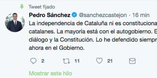 Tuit de Pedro