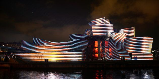 El Museo Guggenheim de Bilbao, en una imagen de