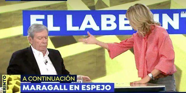 Susanna Griso y José Luis Corcuera en 'Espejo