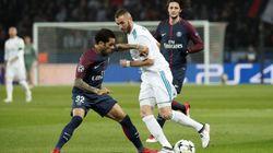 Incredulidad por lo que ha hecho Benzema en pleno PSG-Real
