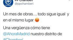 El PP de Chamberí carga contra Carmena por unas obras... que son responsabilidad de
