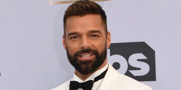 El cambio de 'look' de Ricky Martin que sorprende a sus