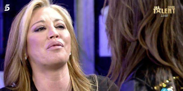 La vieja historia que ha hecho estallar a Belén Esteban en 'Sálvame' (Telecinco):