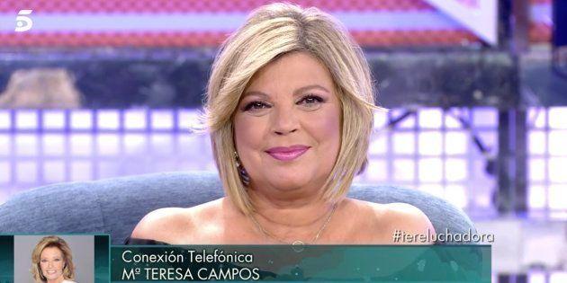d794a16f89 Terelu Campos reaparece tras su operación en 'Sábado Deluxe' con buenas