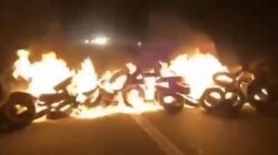 Los CDR cortan la Gran Via de Barcelona y la autopista AP7 en protesta por el juicio del