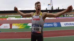 Un atleta paralímpico hace un salto que habría ganado el oro en los Juegos Olímpicos de