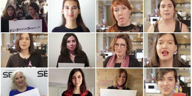 Las periodistas de El HuffPost se unen a la huelga feminista del
