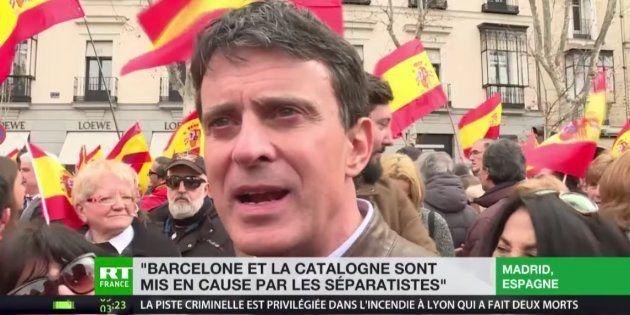 Manuel Valls sufre un incidente en