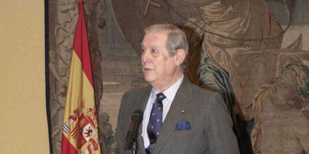 Imagen de archivo de Alfonso Osorio, en un acto celebrado en 2002 en La