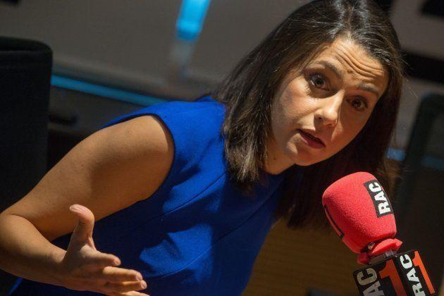La líder de Ciudadanos en Cataluña, Inés