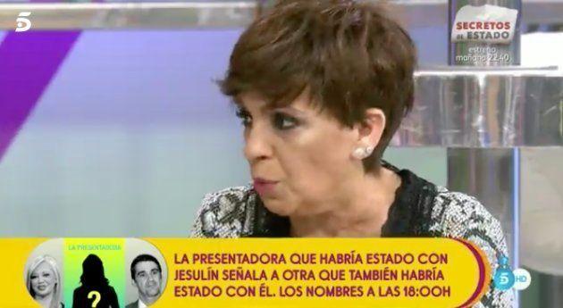 El radical cambio de 'look' de Carmen Borrego que ha dejado locos a todos en 'Sálvame'