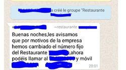 Un restaurante chino de Murcia la lía parda: crea grupos de WhatsApp con clientes y la conversación es