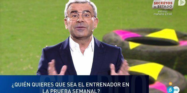 Jorge Javier Vázquez en GH