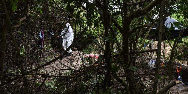 Las autoridades del estado de Colima informaron sobre el hallazgo de fosas