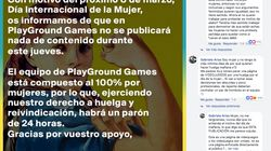 Oleada de machismo contra 'PlayGround Games' por este comunicado sobre el