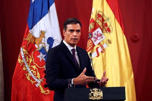 El jefe del Gobierno español, Pedro