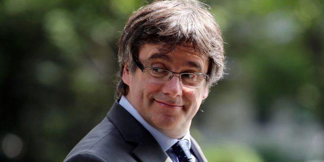 EL expresident catalán, Carles Puigdemont, retratado el pasado 17 de mayo en