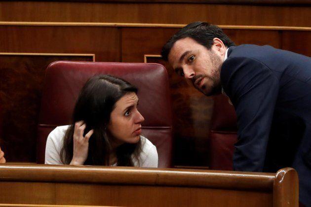 Irene Montero y Alberto