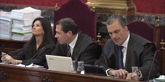 Rosa María Seoane , Pedro Fernández y Javier Ortega