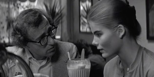 Woody Allen con Mariel Hemingway en una escena de 'Manhattan'