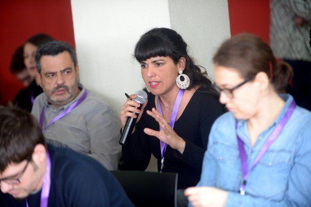 Pablo Iglesias y Teresa Rodríguez difieren sobre la marca Podemos para las