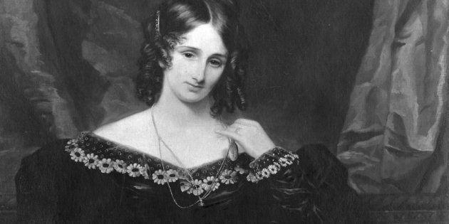 Mary Shelley (1797 - 1851), escritora británica autora de