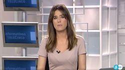 Isabel Jiménez se emociona al informar sobre