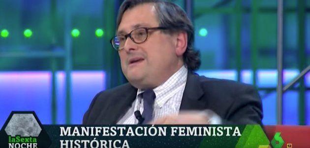 Lidia Falcón, histórica feminista, a Marhuenda: