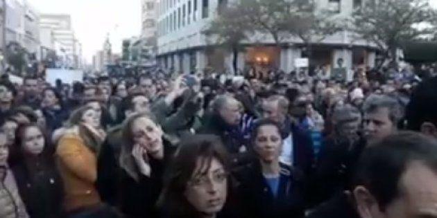 Unas 12.000 personas se concentran en Almería en memoria de Gabriel