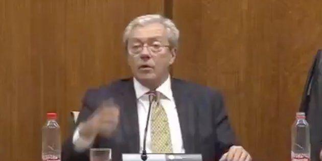 El consejero de Economía de Andalucía, Rogelio