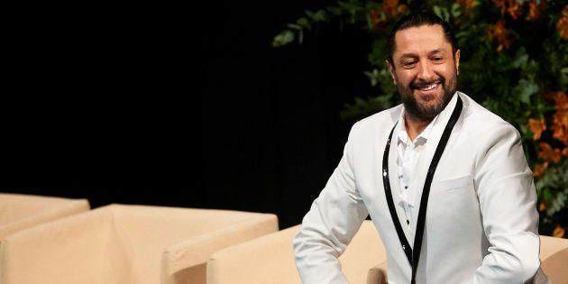 Rafael Amargo, en un acto en Sevilla en febrero de
