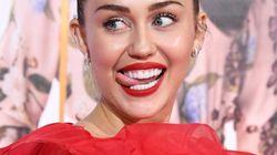 Probablemente la felicitación de Miley Cyrus sea la más porno de San