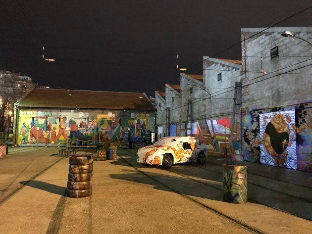 Un festival de arte urbano para cerrar las primeras cocheras del metro de