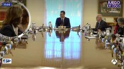 La 'pillada' de 'Espejo Público' (Antena 3) a Sánchez durante el Consejo de