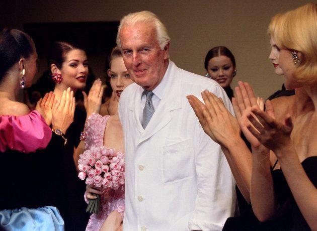 El diseñador Hubert de Givenchy, en