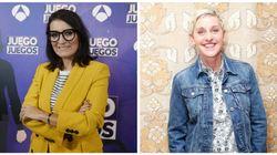La genial conversación entre Silvia Abril y Ellen DeGeneres por el estreno de 'Juego de