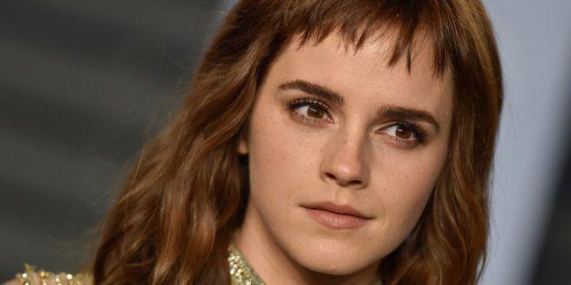 La actriz Emma Watson, en la gala de los Oscar