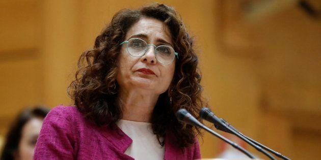 La ministra de Hacienda, María Jesús Montero, en una imagen de