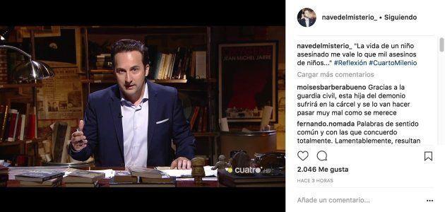 La dura reflexión de Iker Jiménez tras la muerte de Gabriel | El ...